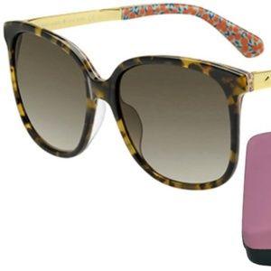 Kate Spade Mackenzee Sunglasses w/ Gradient Lens